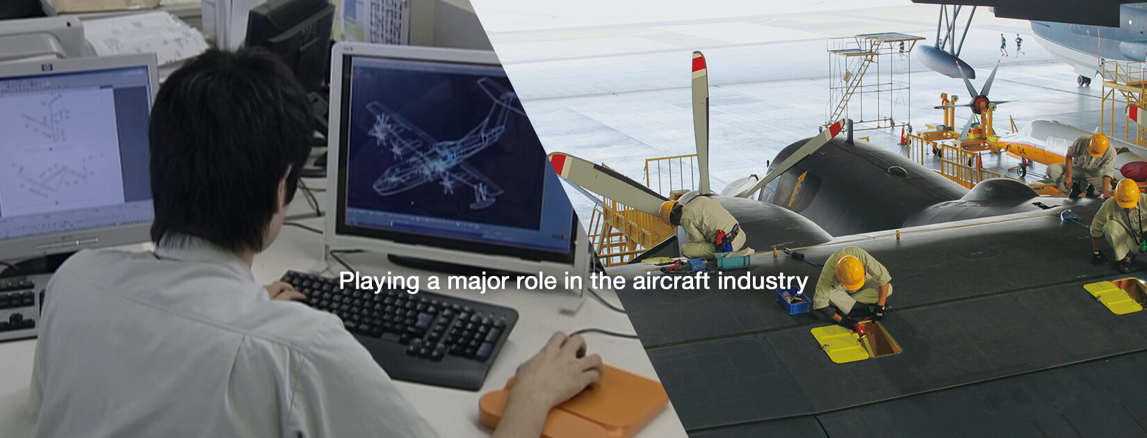 Playing a major role in the aircraft industry