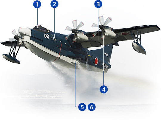 By Land, Sea, or Air US-2 | Aircraft | ShinMaywa Industries