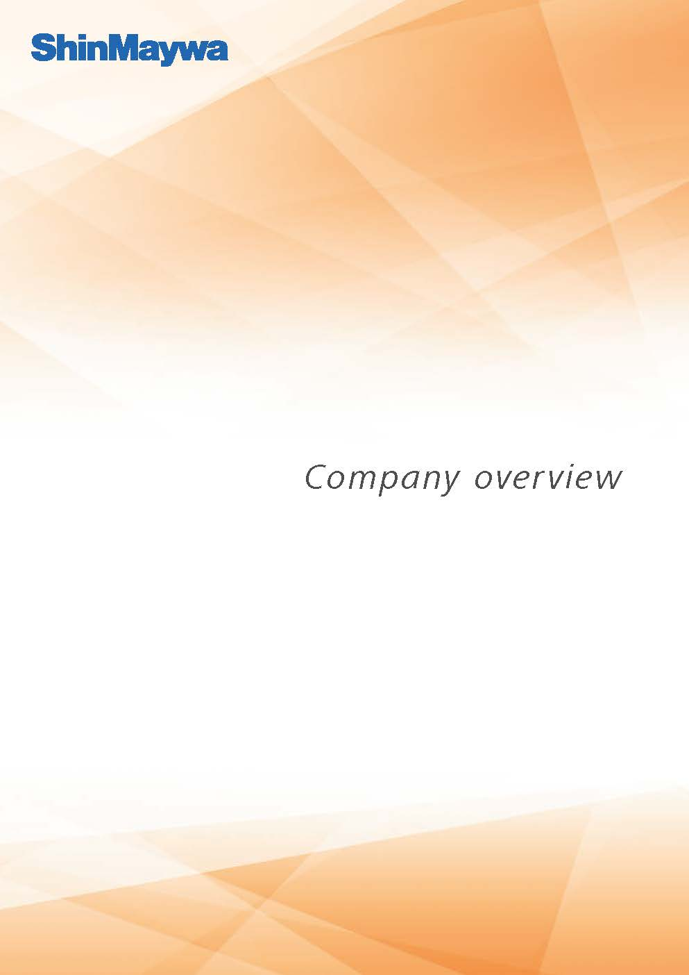 Company overview(English)