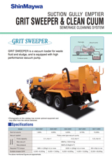 Grit Sweeper & Clean Cuum