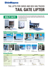 Taill Gate Lifter