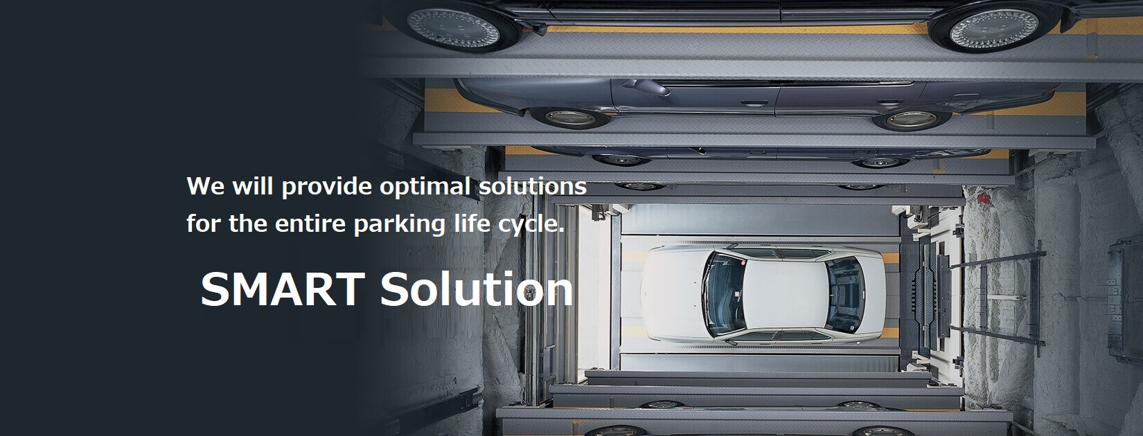 We will provide optimal solutions for the entire parking life cycle
