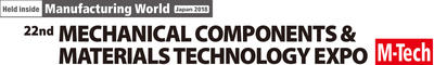 22nd MECHANICAL COMPONENTS & MATERIALS TECHNOLOGY EXPO logo