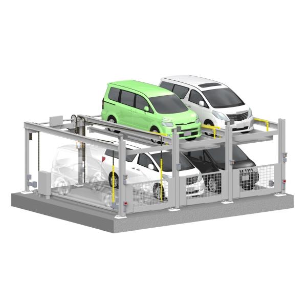 多段方式 昇降横行式駐車装置】...