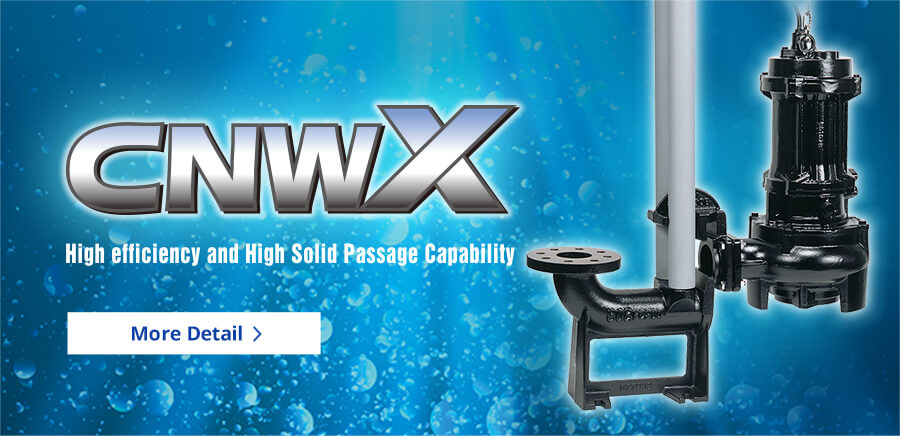 CNWX High efficiency and High Solid Passage Capability