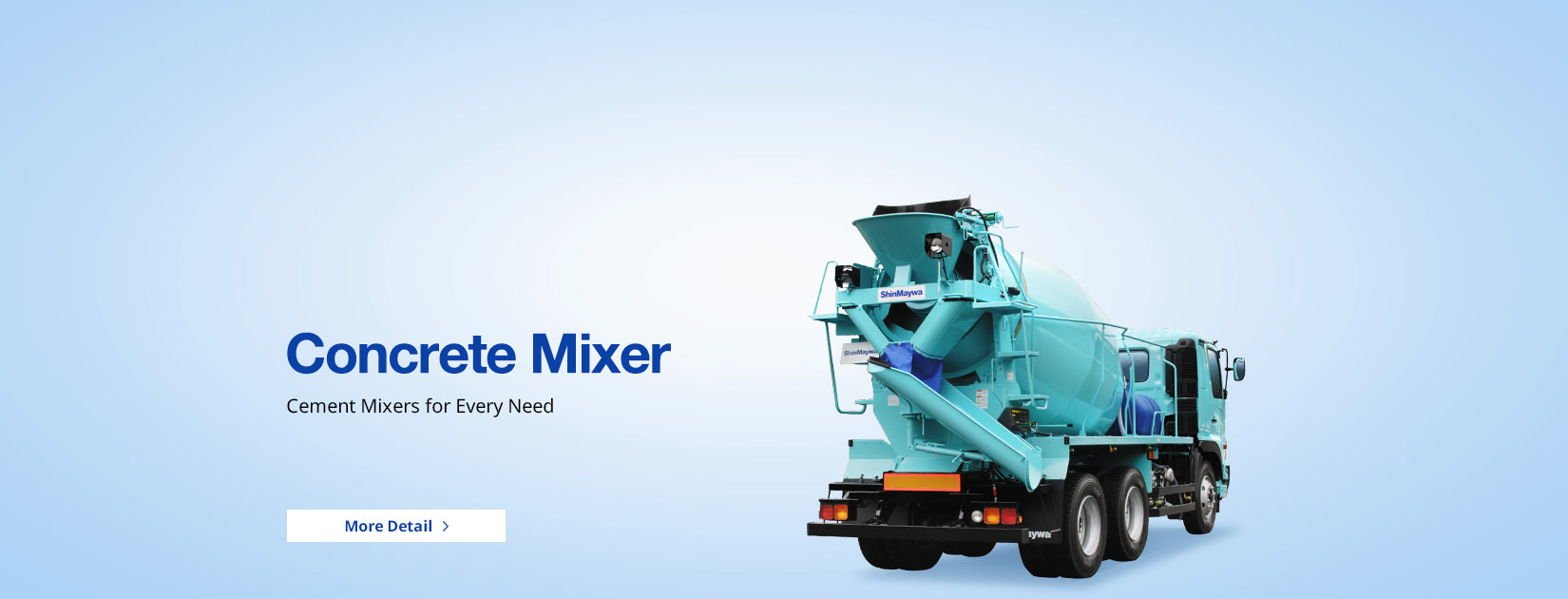 Concrete Mixer Cement Mixer for Every Need