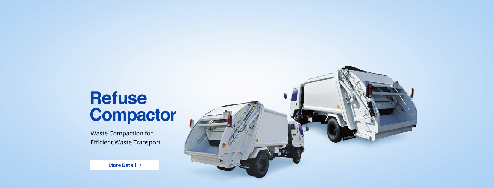 Refuse Compactor Waste Compaction for Efficient Waste Transport