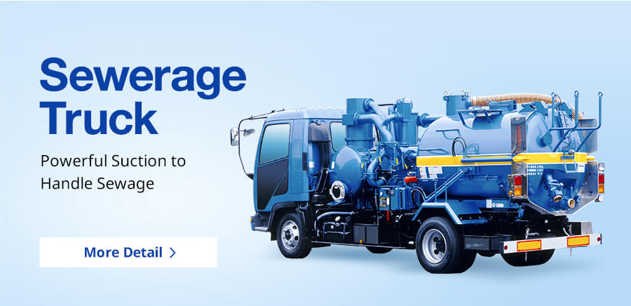 Sewerage Truck Powerful Suction to Handle Sewage